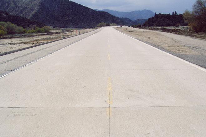 бетон дорога